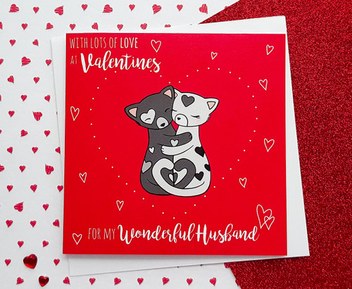 HOLD ME TIGHT Husband Valentine's Card