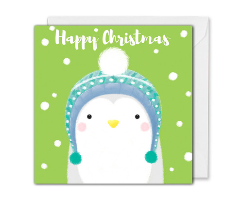 Cute Penguin Christmas Card