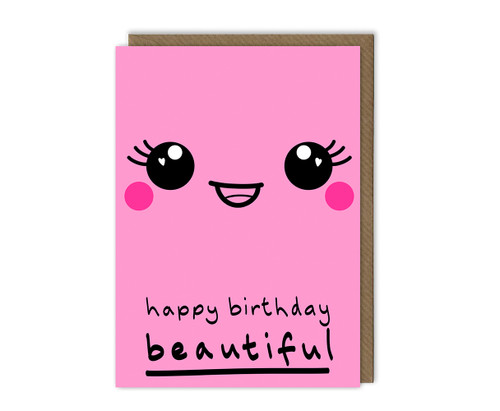 Beautiful Wife Birthday Card
