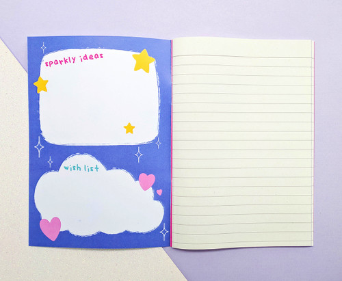 Unicorn Wishes and Dreams Notebook