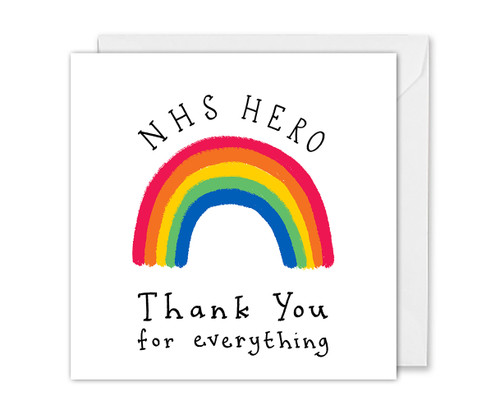 NHS Hero Thank You Card