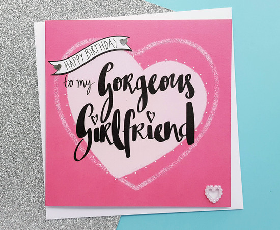 Gorgeous Girlfriend Birthday Card Romantic