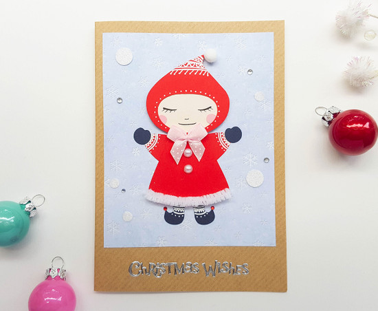 cute christmas carrd handmade