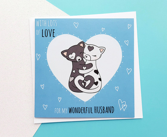 Cute Love Card For Husband Birthday Romantic