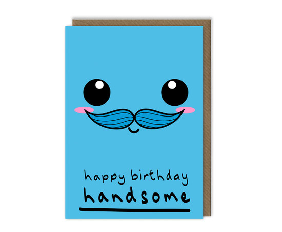 Handsome Husband Birthday Card