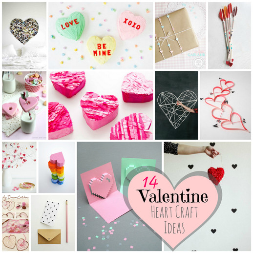 14 Heart Craft Ideas For Valentines Day