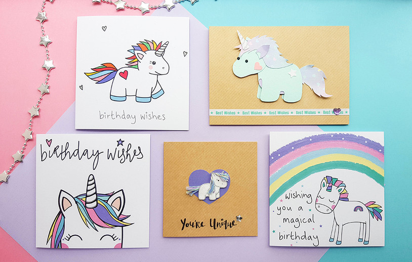 Meet Our Happy Birthday Unicorns