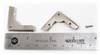8pc. Low-Profile Nickel-Plated Box Corners