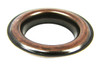 """2-pack Large (1.5"""") Antique Copper Grommets w/Washers"""