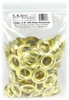 144pc. 9/16-inch (No. 5) Brass Grommets with Washers