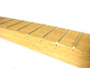 Premium Exotic Hardwood Cigar Box Guitar Neck - Genuine Mahogany with Gold Frets