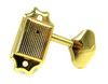 6pc. Gold Wilkinson(tm)-style 3L/3R Covered-Gear Tuners