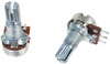2pc. 10K Mini Long-Shaft 10KOhm Linear Taper Potentiometers