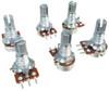 6pc. 10K Mini Long-Shaft 10KOhm Linear Taper Potentiometers