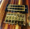 Gold Adjustable Bridge for Electric Guitar