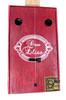 """""""Red Biddy"""" One-String Cigar Box Guitar/Diddley Bow"""