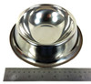 18cm. (7-inch) Stainless Steel Dog Dish - Cigar Box Guitar Resonator Cone