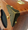 8pc. Antique Brass Box Corners (Smooth Finish)