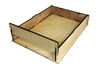"""9 x 12"""" Acoustic Wooden Box Kit - Easy to Assemble!"""