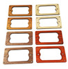 2pc. Full-Size Humbucker Pickup Cover Rings Style 2 - Choose from 4 Wood Types!