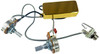 Gold Snake Oil Humbucker Pre-Wired Pickup Harness with Volume & Tone Control