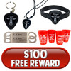 $100 Free Offer Reward - Choose from Several Options!