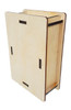 """Pedal-size DIY Wooden Box Enclosure Kit - 4"""" x 6"""" x 2"""" - Easy to Assemble"""