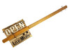 """""""Juke Joint"""" 3-string Fretted Cigar Box Guitar - Watch the Demo Video"""