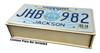 License Plate Resonator Wooden Box Kit - Easy to Assemble
