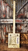 """""""French Quarter"""" Illustrated 3-string Cigar Box Guitar - Beautiful Design, Rich Tone, a Joy to Play"""