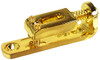 "3pc. Gold ""Indie Bridges"" - 1-string Hard-tail Bridges for Cigar Box Guitars & More"