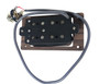 """""""DeltaBucker"""" 4-string Rosewood Cigar Box Guitar Humbucker Pickup pre-wired with Jack - No Soldering!"""