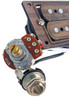 """""""DeltaBucker Deluxe"""" 3-string Rosewood Cigar Box Guitar Humbucker Pickup pre-wired with Volume & Tone - No Soldering!"""