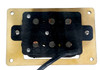 """""""DeltaBucker"""" 3-string Maple Cigar Box Guitar Humbucker Pickup pre-wired with Jack  - No Soldering Required"""