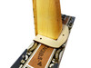 """2pc. Cigar Box Guitar Extended Neck Collars  - 1/8"""" Arctic Birch Ply - Undecorated"""