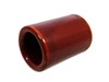 """Brick Red Ceramic Guitar Slide - 1 3/4"""" Length - handcrafted by Janis Wilson Hughes"""