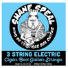 Shane Speal Signature 3-string Cigar Box Guitar String Sets