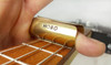 The Hobo Slide - 2-inch Adjustable Brass Cigar Box Guitar Slide - Hand-crafted in the USA