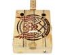 """Homemade Music"" 3-string Illustrated Cigar Box Guitar"