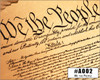 """""""We the People"""" Illustrated Wooden Cigar Box - image printed in full color right on the box top!"""