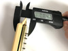 """Polepiece thickness:  .84"""" (21.3mm) thick from the top of the polepiece to the base of the polepiece"""