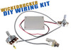 """WickedBucker"" Surface-Mount Humbucker DIY Pickup Harness Wiring Kit - choose your color!"
