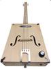 "The ""Tupelo Tenor"" Electric Box Guitar Kit  - Choose 3 or 4-string"