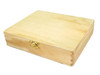 """8"""" x 10"""" Solid Wood Unfinished Cigar Boxes - Perfect for Guitars and more!"""