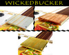 """WickedBucker"" Flat Hand-Wound Surface-Mount Pickups for 3 or 4-string - Choose Cover Style!"