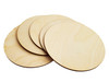 """5pc. 6 1/8"""" Blank 1/8"""" Plywood """"Box Topper"""" Disks"""