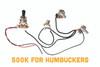 EconoHarness 500-3WAY - pre-wired with 3-way switch, 500KOhm Vol & Tone pots + Jack