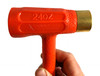 24oz. Brass Deadblow Hammer - the perfect hammer for your workbench.