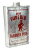 Red's Pure Old Panther Piss Moonshine Can - Choose Size - Great for Canjos, Resonators & More!