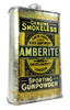 Amberlite Smokeless Gunpowder Can (EMPTY) - Choose Size - Great for Canjos, Resonators & More!